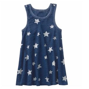 Nwt Gymboree blue and white star dress